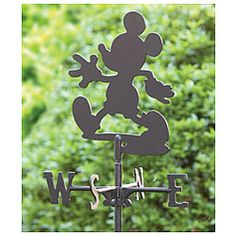 Disney© Mickey Mouse Garden Stake Weather Vane -