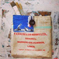 Reworked seed bag/ keep-sake-keep-safe-keeper. mrsbertimus.blogspot.com