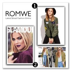 """""""Romwe"""" by alma01-1 ❤ liked on Polyvore"""