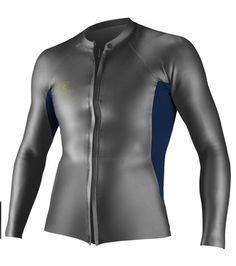 Oneill Mens Wetsuit O'riginal GBS Front Zip Long Sleeve Jacket