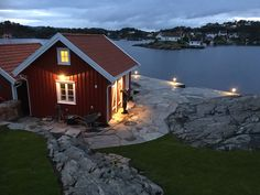 Archipelago, Cabins, Shed, Villa, Outdoors, Outdoor Structures, House Styles, Summer, Image