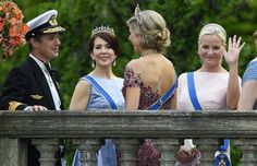 Crown Princess Mary, Crown Prince Frederik, Queen Maxima and Crown Princess Mette Marit