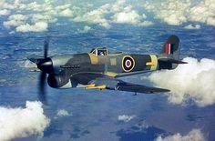 Aviones ingleses de la IIGM