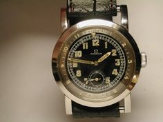Vintage 1938 Omega Military Aviator Watch