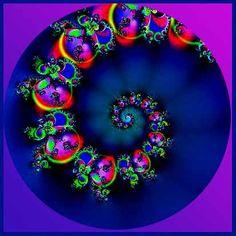 Fractal Spiral Mandala