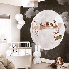 Little Hands Wallpaper Mural ( Nursery Wall Decor, Nursery Room, Kids Bedroom, Little Hands Wallpaper, Kids Room Wallpaper, Baby Boy Rooms, Baby Boy Nurseries, Baby Papa, Kids Decor
