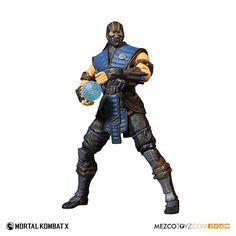 Mezco Toyz: Mortal Kombat X 12inch Sub-Zero Figure