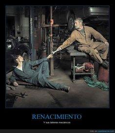 RENACIMIENTO - Y sus talleres mecánicos   Gracias a http://www.cuantarazon.com/   Si quieres leer la noticia completa visita: http://www.estoy-aburrido.com/renacimiento-y-sus-talleres-mecanicos/