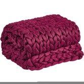 Found it at Temple & Webster - Pomegranate Chunky Knit Throw