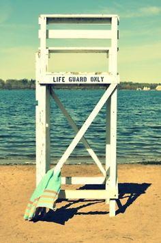 lifeguard tower. #summer