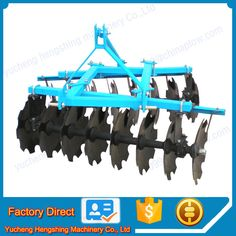 Professional factory supply tractor disc harrow