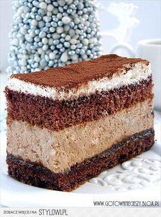 ciasto z musem czekoladowym i nutellą CIASTO Z MUSEM… na Stylowi.pl