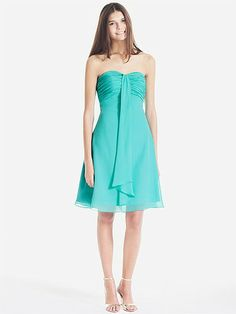 Multi-Wear Ruched Chiffon Bridesmaid Dress | Plus sizes available! You can even custom dress color with them!