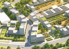 """Galeria de MVRDV divulga novas imagens do masterplan """"La Grande Mosaïque"""" em Caen - 10"""