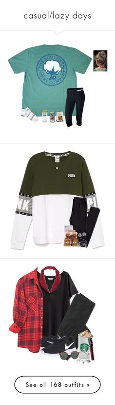 """""""casual/lazy days"""" by ammurphy ❤ liked on Polyvore featuring CO, NIKE, Under Armour, Nalgene, LifeProof, H&M, Urban Decay, UGG Australia, Alex and Ani and Initial Reaction"""
