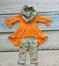 The Georgia Floral 3pc Hi-Lo Boutique Outfit only $16.99 at www.gabskia.com