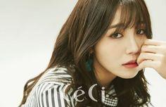EunJi (A Pink) - CéCi Magazine Pics