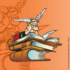 Ásterix también lee