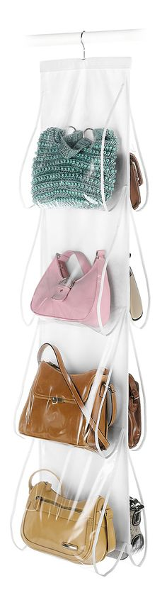Hanging handbag organizer // Need!