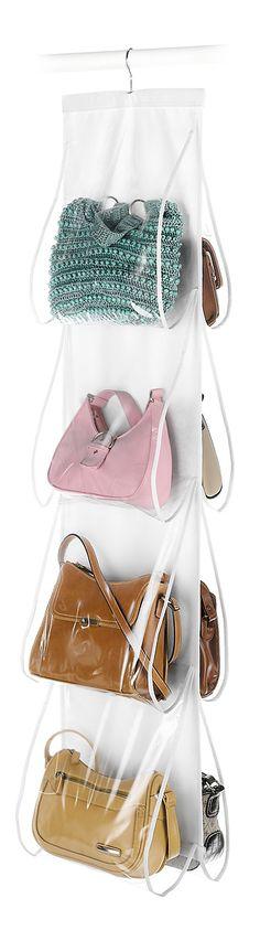 Hanging handbag organizer // Need!