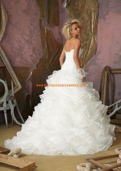 Robe de mariée 2013 gamour organza multicouche