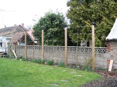 Ivy Clad: Privacy by Pleaching.  Frame for beginning a pleached hedge from scratch.