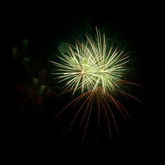 Fireworks / Color Photography by Frédéric Gatelet