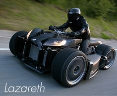 Lazareth. The quad comes with a hefty price, 200,000 euros. the equivalent of $283,000.