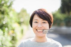 Stock Photo : Portrait of asian woman in her 40's Lightbulb, Rough Cut, Still Image, Asian Woman, Royalty Free Images, Presentation, Japanese, Stock Photos, Portrait