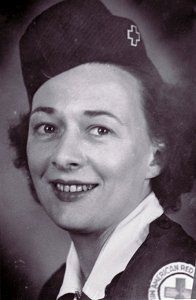 Emily Rea was an American Red Cross worker, she was killed during a crash of a B-17 on the Isle of Man in April 1945 ~