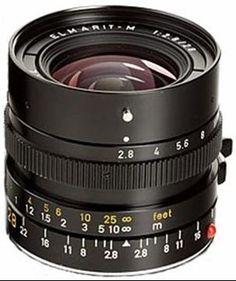 Leica 28/2.8 Elmarit-M III camera lens? Ga naar Cameraland.nl!