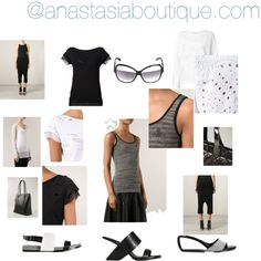 Easy Summer by anastasia-boutique on Polyvore featuring Rick Owens, UN United Nude, Courrèges and Bao Bao by Issey Miyake