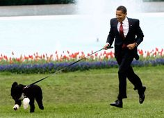Barack Obama and Boo