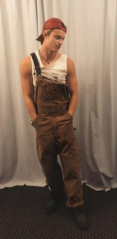 In overalls for season 2 Beautiful Boys, Pretty Boys, Beautiful People, Bae, The Pogues, Cute Guys, Celebrity Crush, Pretty People, Sexy Men