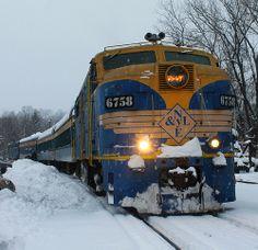 New York & Lake Erie Railroad (NY&LE) Polar Express