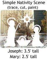 free Patterns for Outside Decorations | NATIVITY WOOD PATTERNS - Browse Patterns