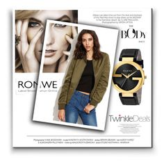"""""""Romwe fashion"""" by sanela-m ❤ liked on Polyvore featuring Gucci and Kershaw"""