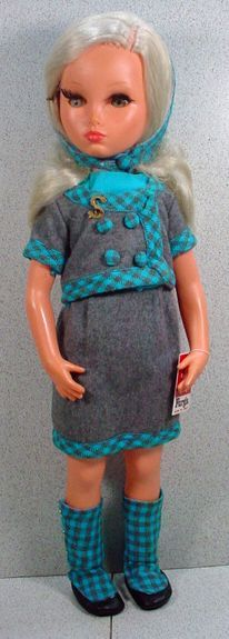 'Beautiful Furga Sylvie Alta Moda Fashion Doll, 1960's*