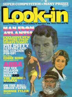 The Man From Atlantis. 1970s Childhood, Childhood Memories, Coventry City Fc, Patrick Duffy, Sci Fi Tv Series, Bionic Woman, Old Comics, Vintage Tv, The Good Old Days