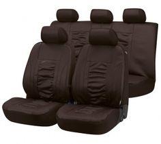 Kunstleder Sitzbezüge Raphael braun - die elegante Lösung für einen schönen Innenraum.