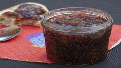Jam of figs and orange peel (vegan, gluten-free Fruit Recipes, Clean Recipes, Cooking Recipes, Healthy Recipes, Fig Jam, Carne Picada, Dried Apricots, Holistic Nutrition, Healthy Treats