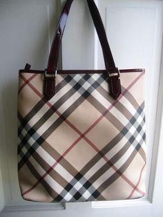 1760a1f4c1d3 Burberry Super Nova Check Large Tote Bag - Such a classic piece.