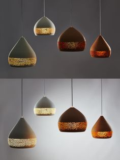 Suspended Lighting, Unique Lighting, Lighting Design, Bar Counter Design, Arabic Decor, Berlin Design, Bohemian Kitchen, Ceramic Light, Hanging Bar