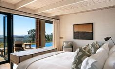 WorldGuide's top 10 hotels with breathtaking landscape views - Best Places to Be - WorldGuide Recommends - Travel - - Delaire Graff Lodges and Spa, Cape Wineland Spa Bedroom, House Design, Hotels Room, Top 10 Hotels, Lodge Bedroom, Home, Lodge, Lodges, Room