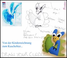 Draw Your Cuddle - sometimes it is tricky ;) ...  http://fiaba.de/draw-your-cuddle/