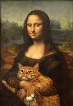Russian Artist Recreates Classic Works Of Art Featuring Her Own Cat - ABC News
