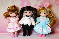 Little Licca, Jenny & Mimi World Dolls | Flickr - Photo Sharing!