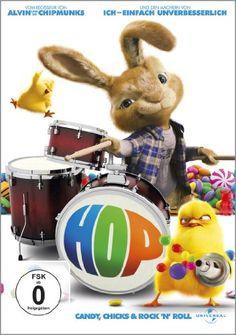 Hop - Osterhase oder Superstar? * IMDb Rating: 5,3 (15.089) * 2011 USA * Darsteller: James Marsden, Russell Brand, Kaley Cuoco,
