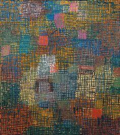 Paul Klee - Colours from a Distance, 1932 Abstract Images, Abstract Art, Abstract Paintings, Oil Paintings, Landscape Paintings, Paul Klee Art, Franz Kline, Willem De Kooning, Henri Matisse