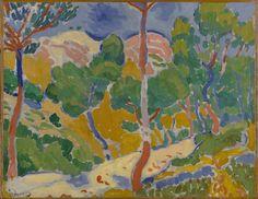 André Derain, Paysage du Midi (Landscape of the Midi), 1906